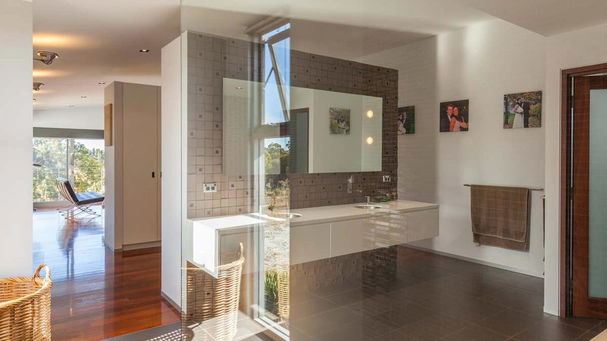 Architect designed interior in Dalkeith, Perth by Perth Architect Threadgold Architecture.