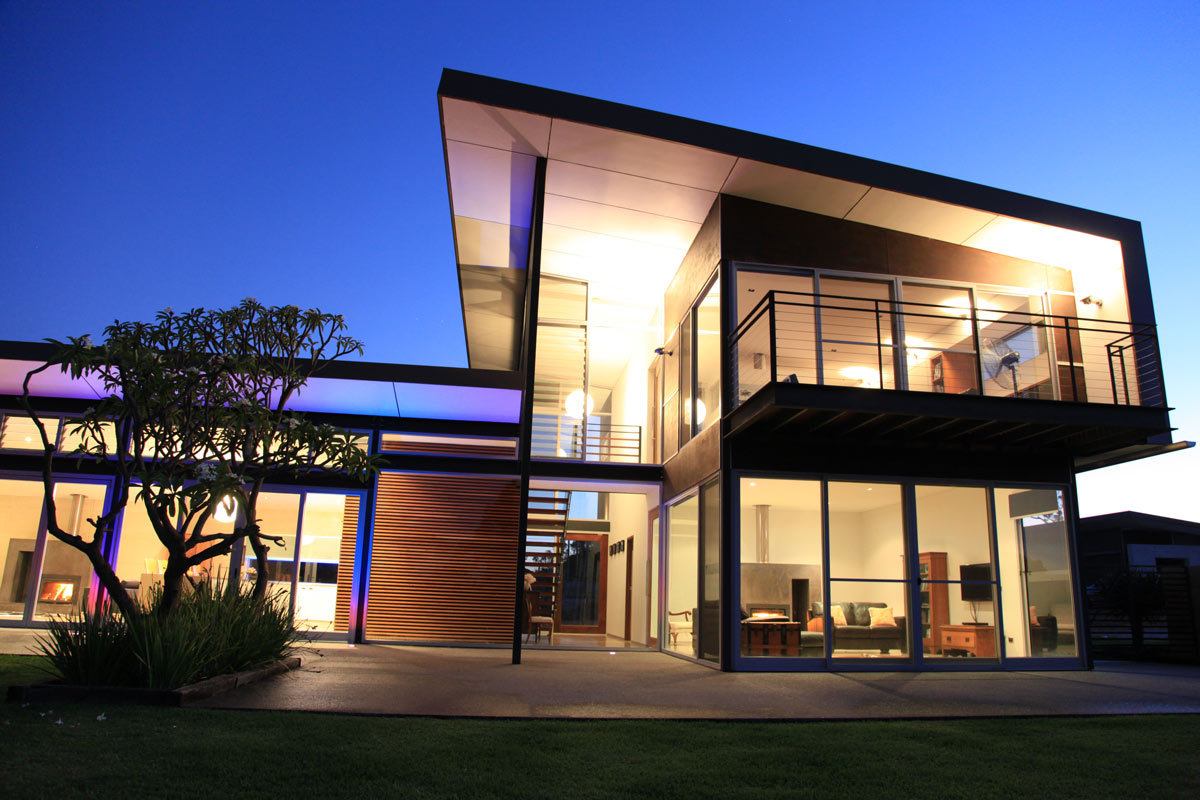 Environmentally sustainable house design in Busselton, this example is a house in Yallingup designed by awarded Perth and Busselton architect, Threadgold Architecture.